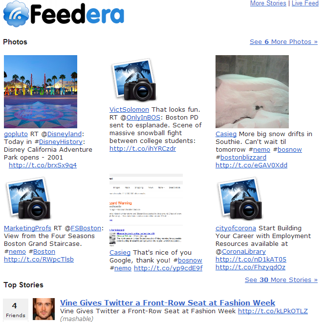 Feedera Digest Email
