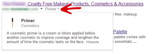 Google search results featuring incorrect Knowledge Graph information